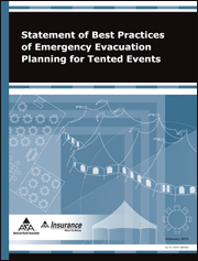Statement of Best Practices of Emergency Evacuation Planning for Tented Events